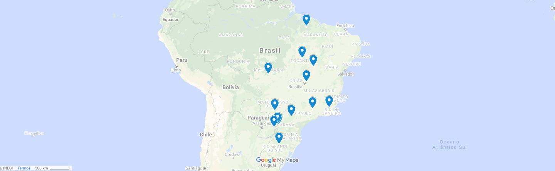 Mapa atuamos